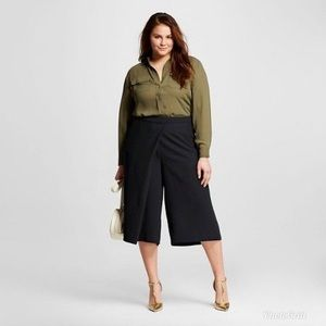 NWT Who What Wear Wrap Culottes